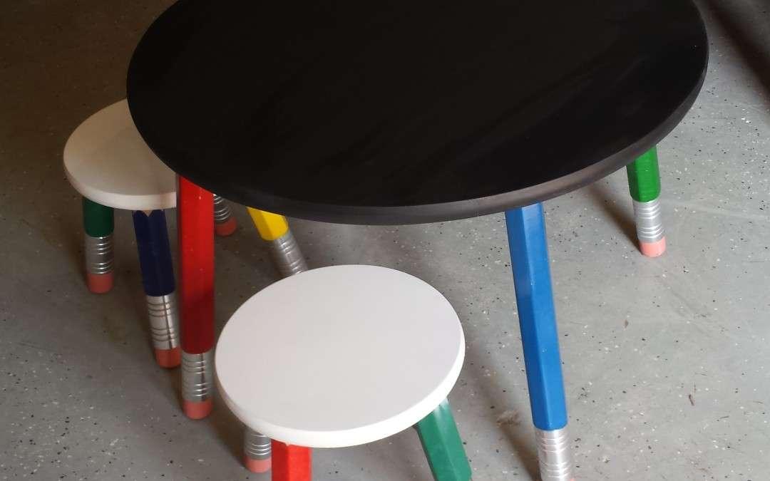 Pencil Table Set
