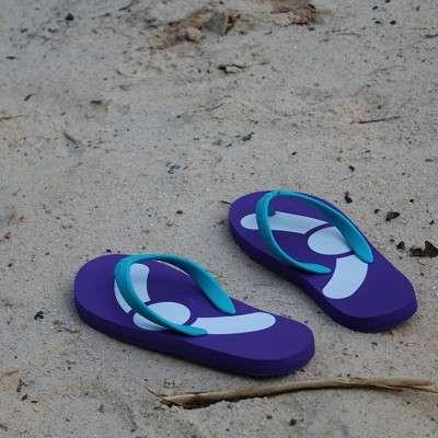 Imprint The World flip flops