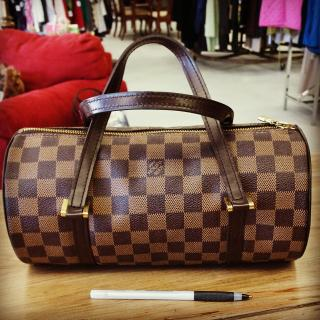 Louis Vuitton Papillon 26 Damier bag $290 #ZABSsteal #therealdeal #authentic
