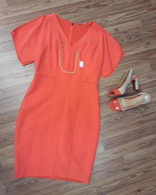 Elie Tahari dress sz. S Mootsies Tootsies pump sz.8 Get the look: Retail: $500 #ZABSSteal Price $63