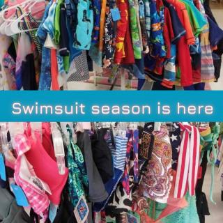 Do you need bathing suits for the whole family? Well, we have you covered!  Most bathing suits (1 & 2 piece) are priced from $2-4 each so stop by and grab yours this week! We have a wide variety of sizes and colors for you to choose from.  #ZABSPlace #ZABSfindz #ZABSstealz #ThriftIngCharlotte #CharlotteNC #ThriftFinds #MatthewsNC #CharlotteThrift